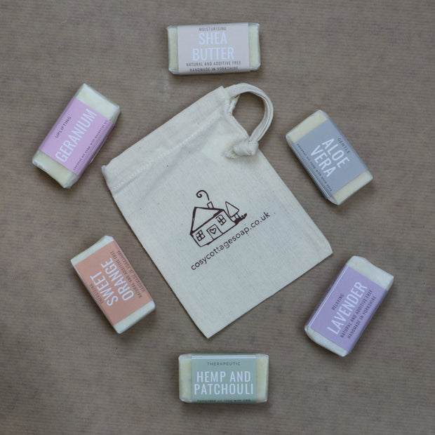 Cosy Cottage Soap Travel Soap Set 20g Soaps x 6