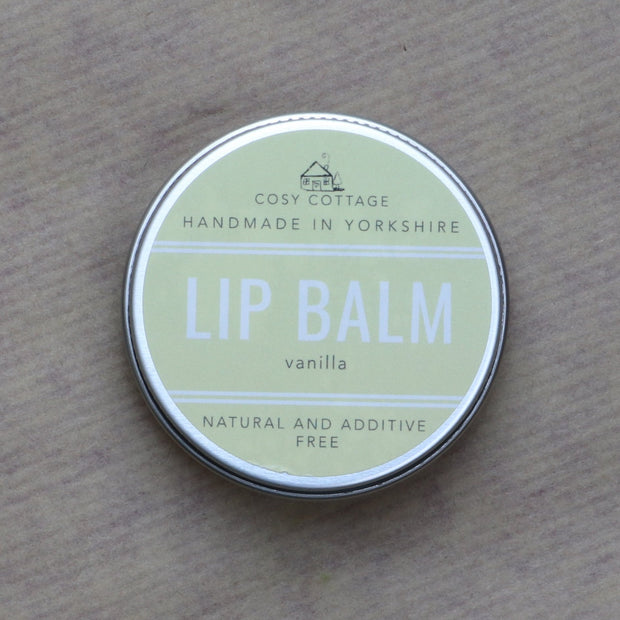 Cosy Cottage Soap Vanilla Lip Balm