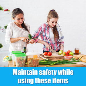 Maintain safety while using these items