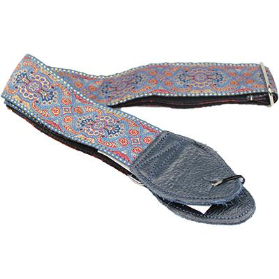 "SOULDIER STRAPS Vintage 2"" - Arabesque Indigo Accessories Souldier Straps"