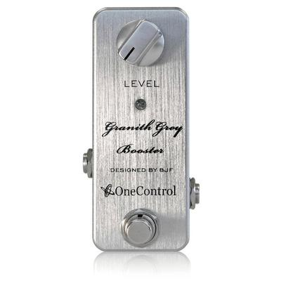 ONE CONTROL Granith Grey Booster Pedals and FX One Control
