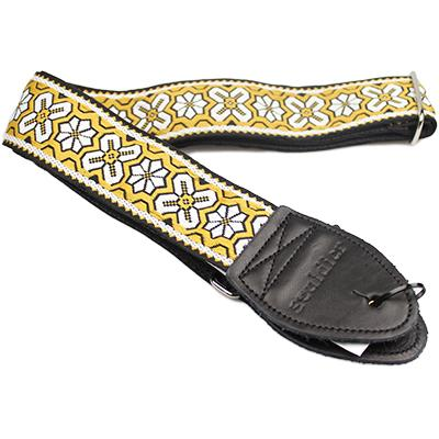 "SOULDIER STRAPS Vintage 2"" - Greenwich Yellow Accessories Souldier Straps"