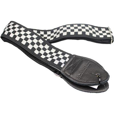 "SOULDIER STRAPS Vintage 2"" - Raceway Checker Cheap Trick"