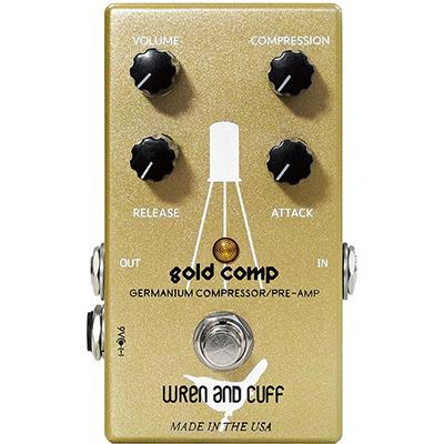 WREN and CUFF Gold Comp Pedals and FX Wren And Cuff
