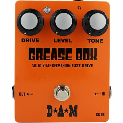 D*A*M Grease Box GB-88 Pedals and FX D*A*M