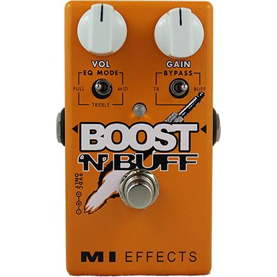 MI AUDIO Boost n Buff Pedals and FX MI Audio