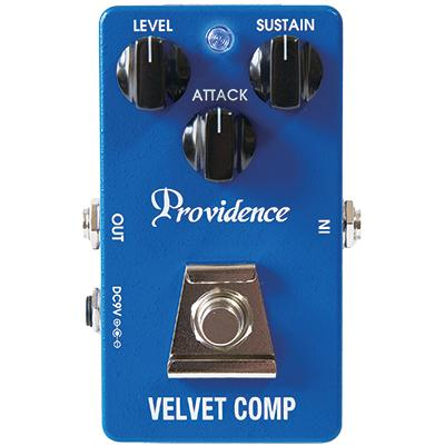 PROVIDENCE VLC-1 Velvet Comp Pedals and FX Providence