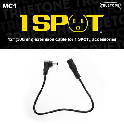 "1 SPOT 12"" DC Extension Cable"