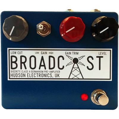 HUDSON ELECTRONICS Broadcast Pedals and FX Hudson Electronics