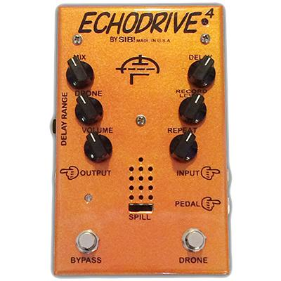 SIB! FX Echodrive 4 LTD Handwired - Deluxe Guitars Exclusive Pedals and FX SIB