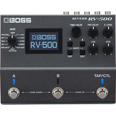 BOSS RV-500 Digital Reverb Pedals and FX Boss