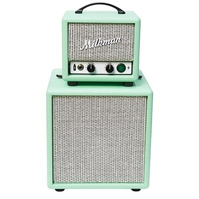 MILKMAN SOUND 5 Watt Mini Stack - Jupiter Ceramic - Surf Green/White Amplifiers Milkman Sound