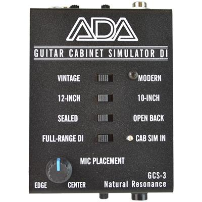 ADA GCS-3 Guitar Cabinet Simulator Pedals and FX A/DA Amps