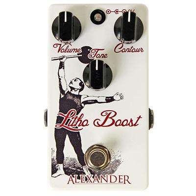 ALEXANDER PEDALS Litho Boost Pedals and FX Alexander Pedals