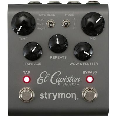 STRYMON El Capistan Tape Echo Pedals and FX Strymon