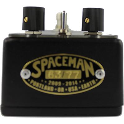 SPACEMAN EFFECTS Spacerocket Black Edition Pedals and FX Spaceman Effects