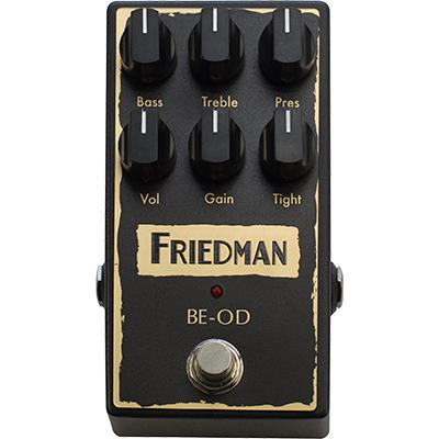 FRIEDMAN BE-OD Pedal Pedals and FX Friedman Amplification