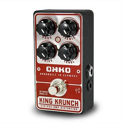 OKKO FX Krunch King Pedals and FX Okko FX