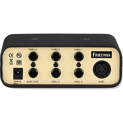 FRIEDMAN Buffer Bay 6 Pedals and FX Friedman Amplification