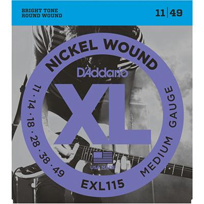 DADDARIO EXL115 11-49 Strings (3-Pack) Strings DAddario
