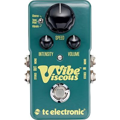 TC ELECTRONIC Viscous Vibe Pedals and FX TC Electronic