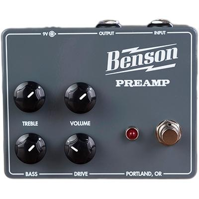 BENSON AMPS Preamp Pedals and FX Benson Amps