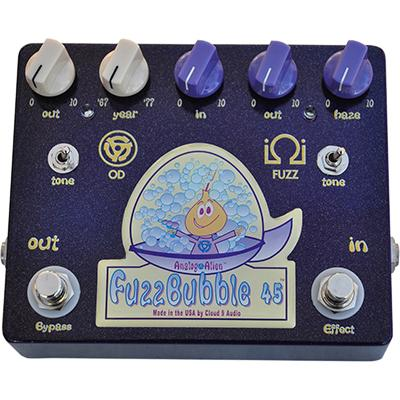 ANALOG ALIEN Fuzz Bubble 45 Pedals and FX Analog Alien