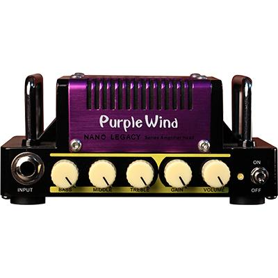 HOTONE Nano 5w Amp Purple Wind Pedals and FX Hotone