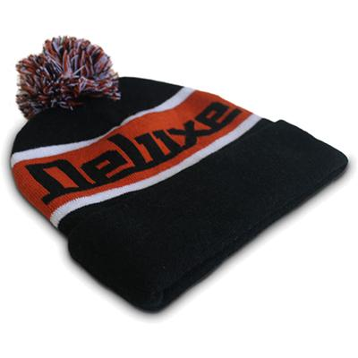 DELUXE Footy Beanie - Black (Small / Kids) Accessories Deluxe Guitars