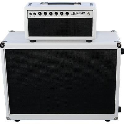 MILKMAN SOUND 2 x 12 Cabinet - Celestion Greenback - White
