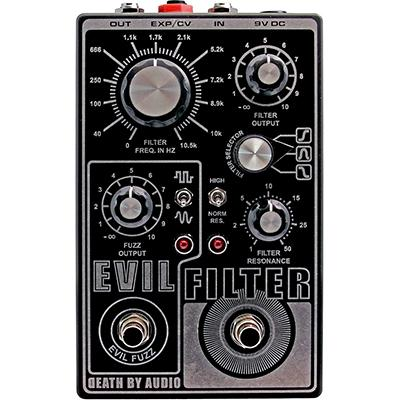 DEATH BY AUDIO Evil Filter Pedals and FX Death By Audio