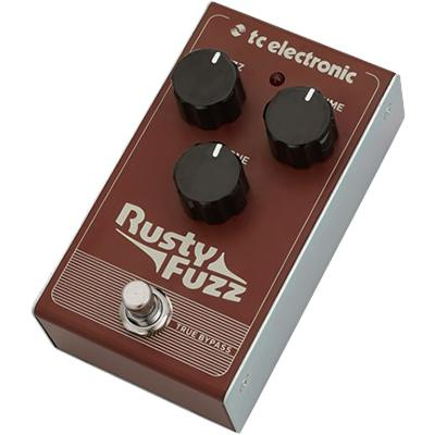 TC ELECTRONIC Rusty Fuzz Pedals and FX TC Electronic