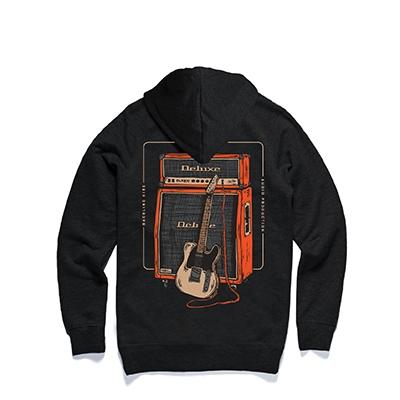 "DELUXE Zip Hood ""RIG"" - Small Accessories Deluxe Guitars"