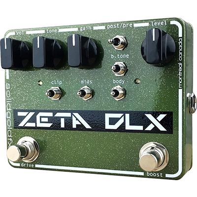 SOLID GOLD FX Zeta DLX Pedals and FX Solid Gold FX