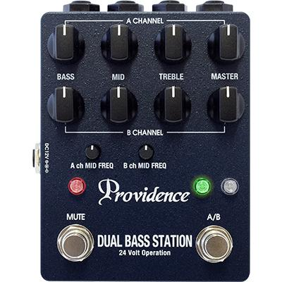 PROVIDENCE DBS-1 Dual Bass Station Pedals and FX Providence