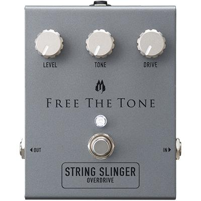 FREE THE TONE String Slinger Overdrive Pedals and FX Free The Tone
