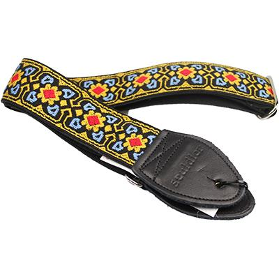 "SOULDIER STRAPS Vintage 2"" - Fillmore Blue/Yellow/Red Accessories Souldier Straps"