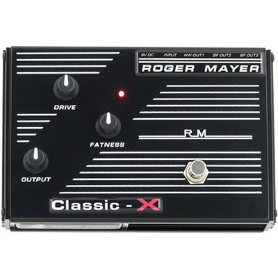 ROGER MAYER Classic X Pedals and FX Roger Mayer