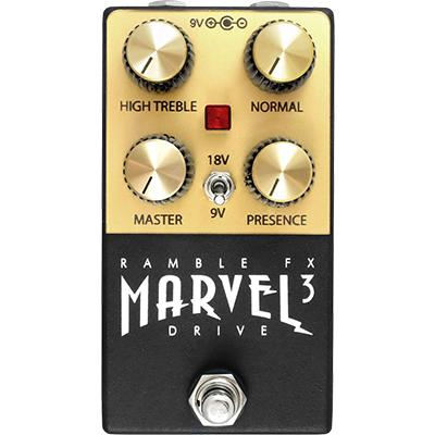 RAMBLE FX Marvel Drive 3 - Black