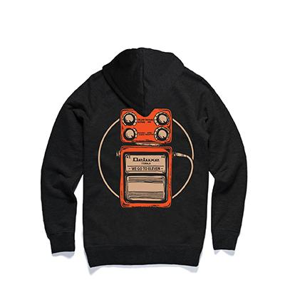 "DELUXE Zip Hood ""PEDAL"" - Small Accessories Deluxe Guitars"