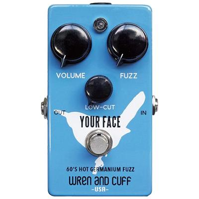 WREN and CUFF Your Face Rude 60s Pedals and FX Wren And Cuff