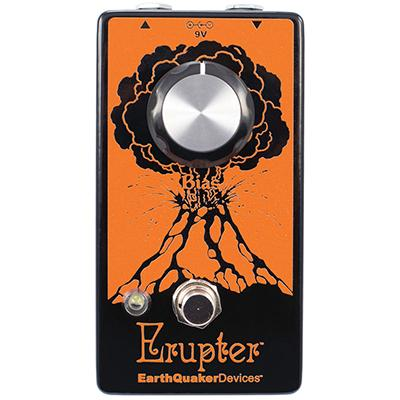 EARTHQUAKER DEVICES Erupter Pedals and FX Earthquaker Devices