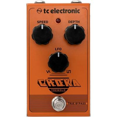 TC ELECTRONIC Choka Tremolo Pedals and FX TC Electronic