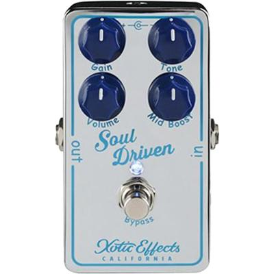 XOTIC Soul Driven Pedals and FX Xotic