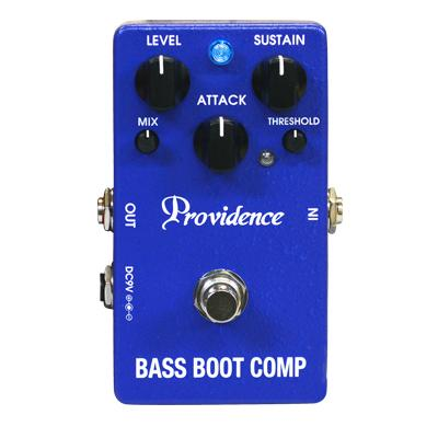PROVIDENCE BTC-1 Bass Boot Comp Pedals and FX Providence