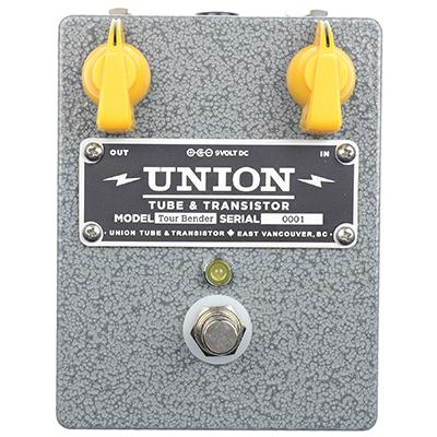 UNION TUBE & TRANSISTOR Tour Bender Pedals and FX Union Tube & Transistor