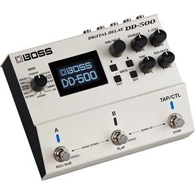 BOSS DD500 Digital Delay Pedals and FX Boss
