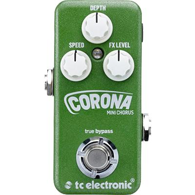 TC ELECTRONIC Corona Chorus Mini Pedals and FX TC Electronic
