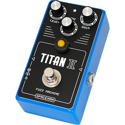 SPACEMAN EFFECTS Titan II Fuzz Machine - Blue Edition Pedals and FX Spaceman Effects