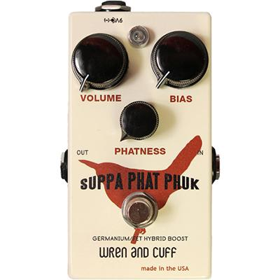 WREN and CUFF Suppa Phat Phuk Pedals and FX Wren And Cuff